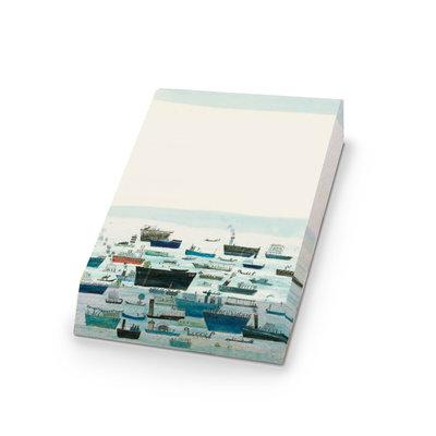 Bekking & Blitz Notitieblok 'Het gelukkige eiland' - Marit Tornqvist