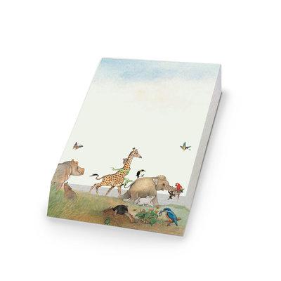 Bekking & Blitz Notitieblok 'Van mug tot olifant' - Ingrid en Dieter Schubert