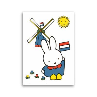 Bekking & Blitz Nijntje Holland ansichtkaart