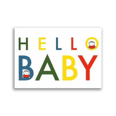 Bekking & Blitz Nijntje - Hello Baby ansichtkaart
