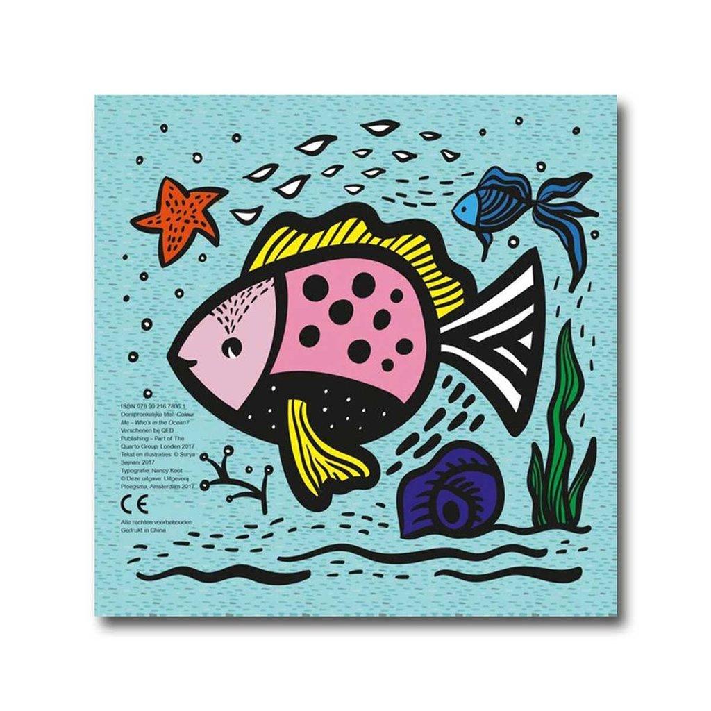 Wee Gallery Badboekje - Wie zwemt er in de zee? - Wee Gallery