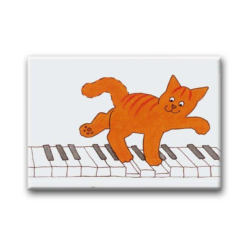 Bekking & Blitz Dikkie Dik magneet, Piano
