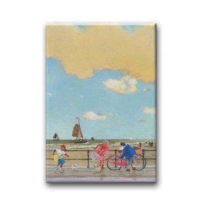 Bekking & Blitz 'Holland op z'n mooist' - Charlotte Dematons, koelkastmagneet