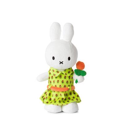 Nijntje Nijntje knuffel met bloemenjurk, 24 cm