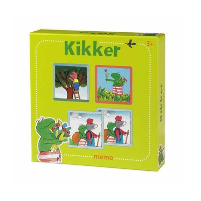 Leopold Kikker Memory Spel