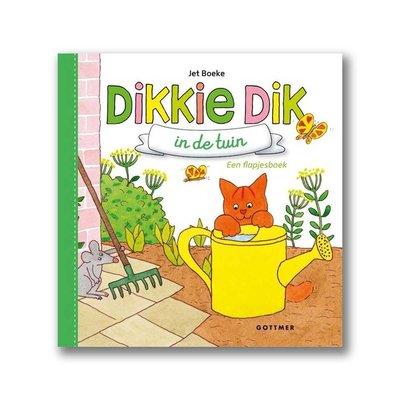 Gottmer Dikkie Dik - In de tuin - flapjesboek