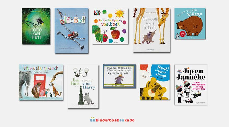 Kinderboeken Top 10 - begin 2021