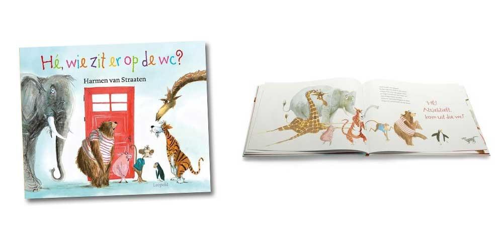 top 10 kinderboeken he wie zit er op de wc harmen van straaten boek