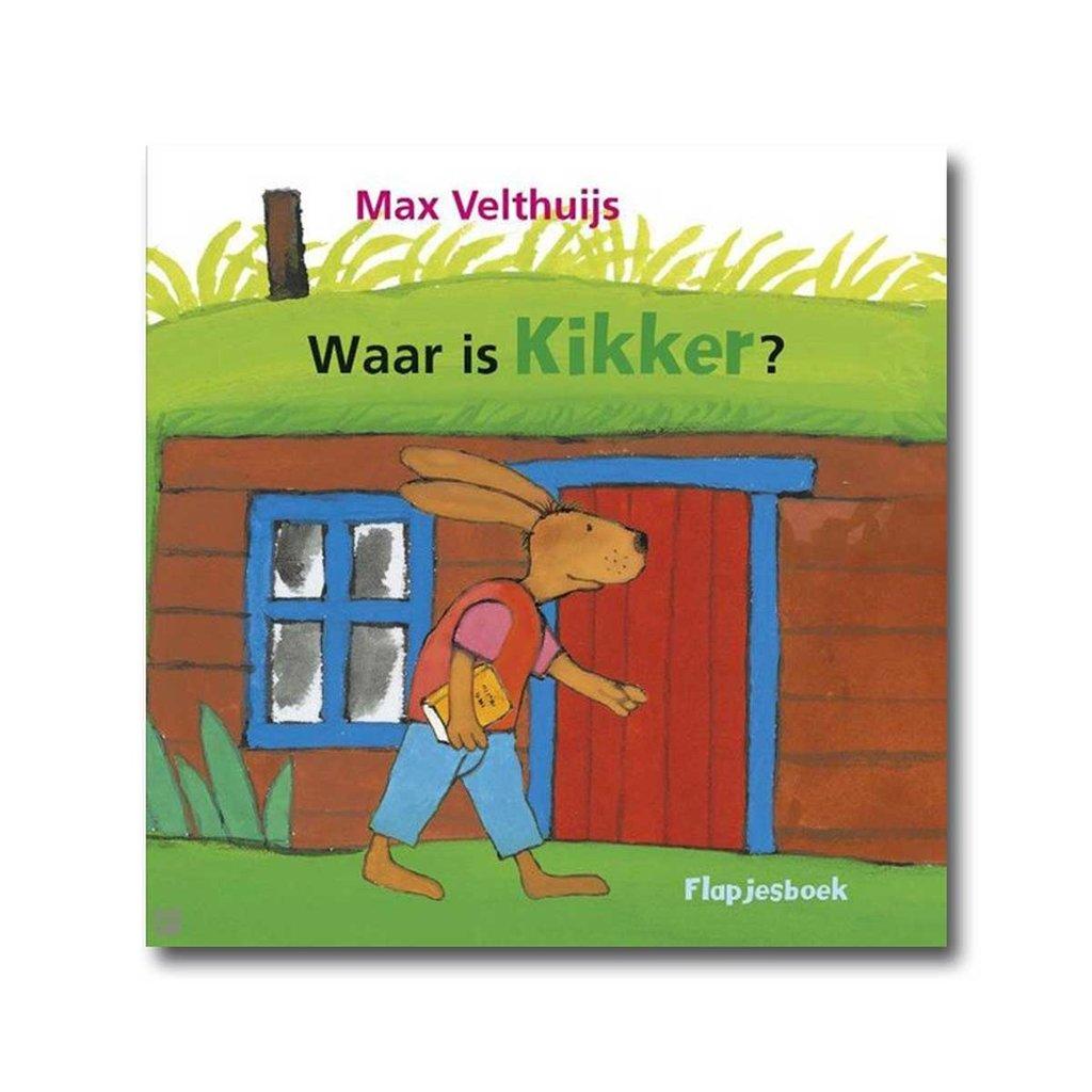 Leopold Kikker - Waar is Kikker - Flapjesboek - Max Velthuijs