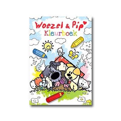 Dromenjager Woezel en Pip  Kleurboek