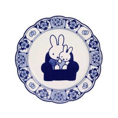 Royal Delft Nijntje bord - Delfts Blauw - 22 cm