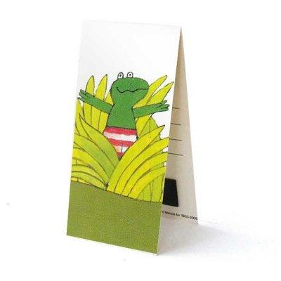 Bekking & Blitz Kikker boekenlegger - Dit is Kikker - Magnetische boekenlegger