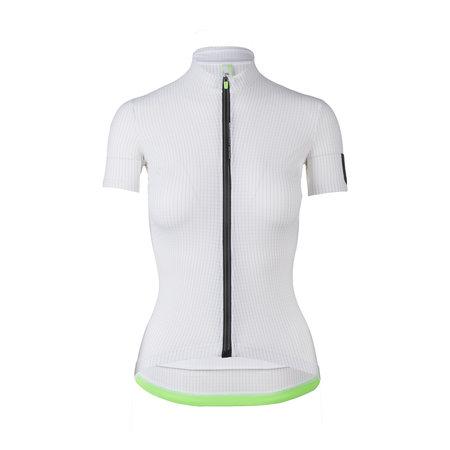 Q36.5 Dames Shirt korte mouwen Pinstripe