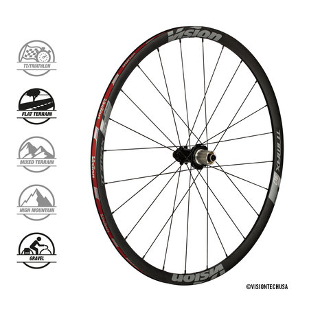 Vision Vision Wheelset Trimax 30 DB-CL Clincher Shimano
