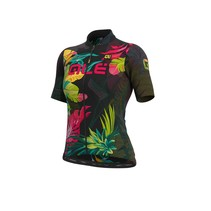 Donna SS Jersey Solid Tropika