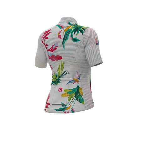 ALE Ale Donna SS Jersey Solid Tropika