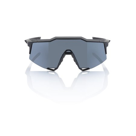 100% 100% SPEEDCRAFT® Soft Tact Black Smoke Lens + Clear Lens Included