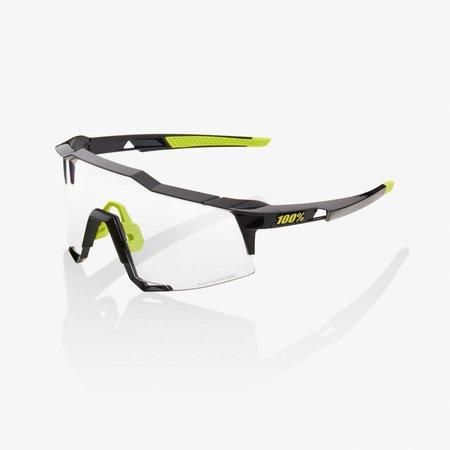 100% 100% Speedcraft - Gloss Zwart - Photochromic Lens
