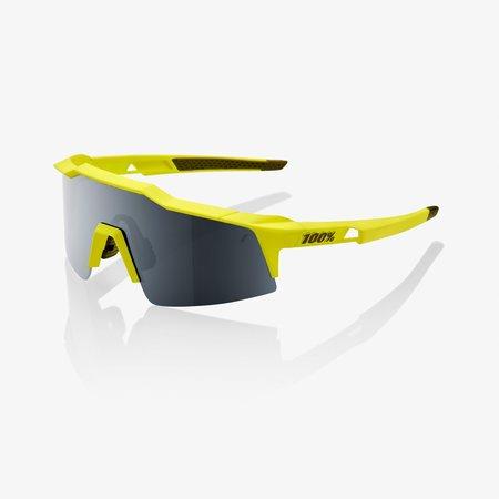100% 100% SPEEDCRAFT® SL Soft Tact Banana Black Mirror Lens + Clear Lens Included