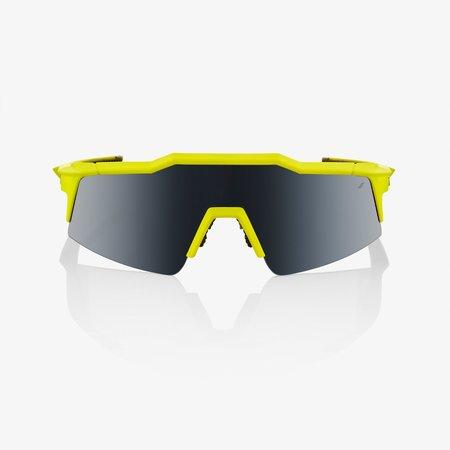 100% 100% Speedcraft SL - Soft Tact Banana - Zwarte Mirror Lens