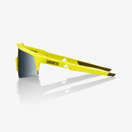 100% 100% Speedcraft SL - Soft Tact Banana - Black Mirror Lens
