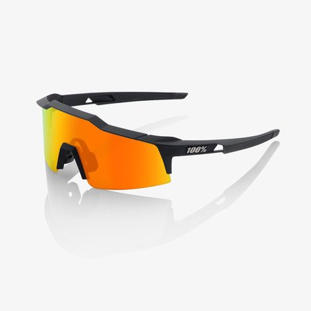 100% 100% SPEEDCRAFT® SL Soft Tact Black HiPER® Red Multilayer Mirror Lens + Clear Lens Included