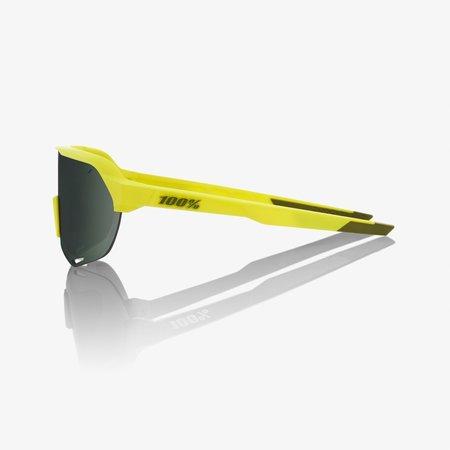 100% 100% S2 - Soft Tact Banana - Grey Green Lens