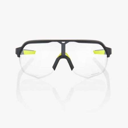 100% 100% S2 - Soft Tact Cool Grijs - Photochromatische Lens
