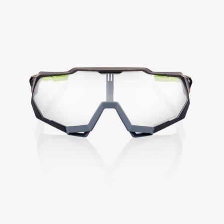 100% 100% Speedtrap - Soft Tact Cool Grijs - Photochromatische Lens