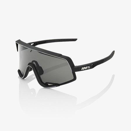 100% 100% Glendale - Soft Tact Zwart- Smoke Lens