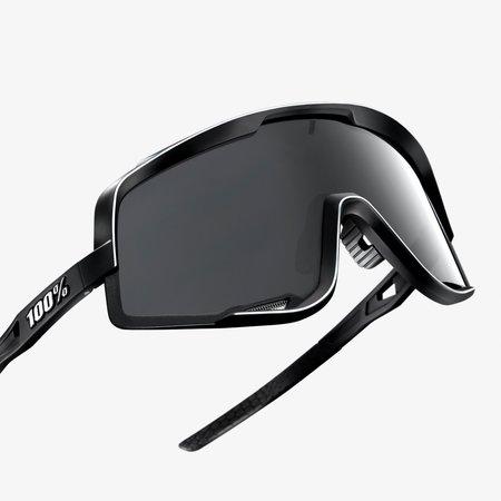 100% 100% GLENDALE® Soft Tact Black Smoke Lens
