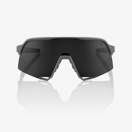 100% 100% S3® Matte Cool Grey Smoke Lens + Clear Lens Included