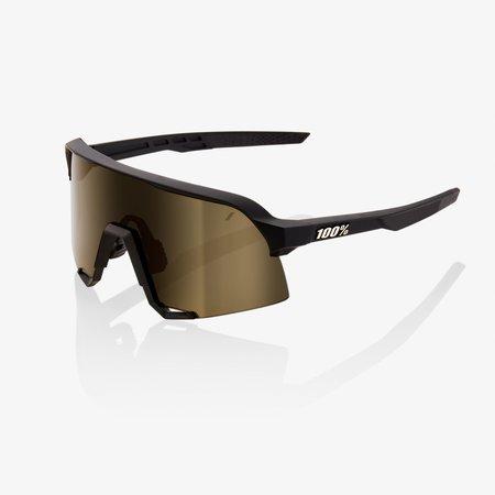 100% 100% S3 - Soft Tact Zwart - Soft Gouden Lens