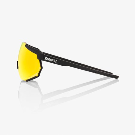 100% 100%  RACETRAP® Soft Tact Black HiPER® Red Multilayer Mirror Lens + Clear Lens Included