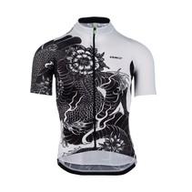 Jersey short sleeve G1 Dragon Black-White