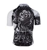 Q36.5 Q36.5 Jersey short sleeve G1 Dragon Black-White