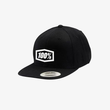 100% 100% Snapback Hat Essential