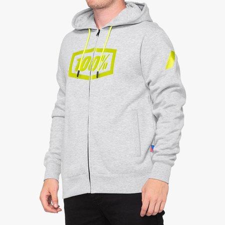 100% 100%  SYNDICATE Zip Hooded Sweatshirt