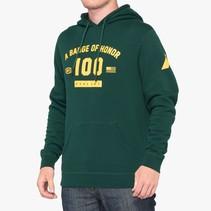 TRIBUTE Hooded Pullover Sweatshirt Emerald