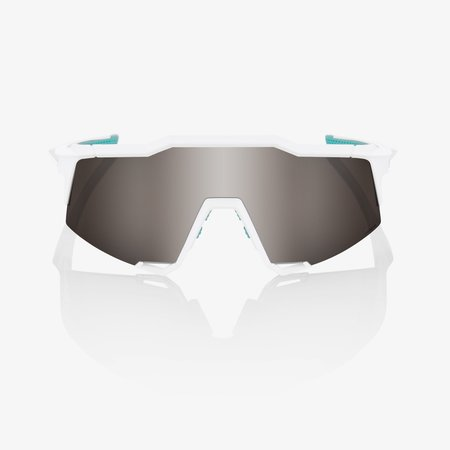 100% 100% SPEEDCRAFT® SE BORA - hansgrohe Team White HiPER® Silver Mirror Lens + Clear Lens Included