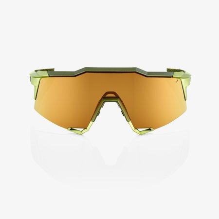 100% 100% SPEEDCRAFT® Matte Metallic Viperidae Bronze Multilayer Mirror Lens + Clear Lens Included