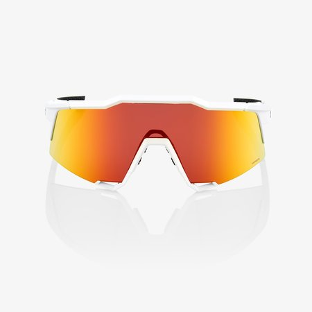 100% 100% SPEEDCRAFT® Off White HiPER® Red Multilayer Mirror Lens + Clear Lens Included