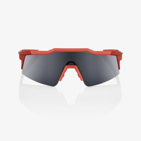 100% 100% SPEEDCRAFT SL - Soft Tact Coral - Smoke Lens (Incl Clear Lens)