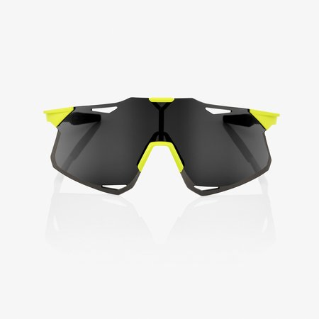 100% 100% HYPERCRAFT - Matte Banana - Smoke Lens (Incl. Clear Lens)
