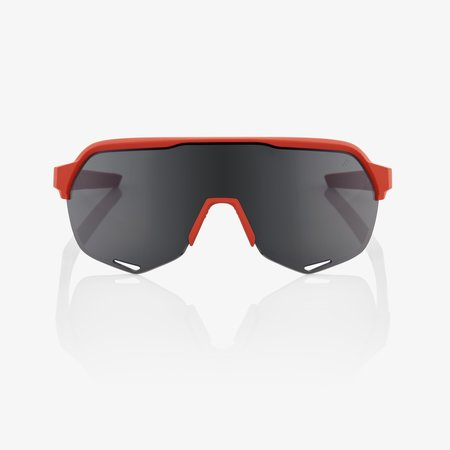 100% 100% S2® Soft Tact Coral Smoke Lens + Clear Lens Included