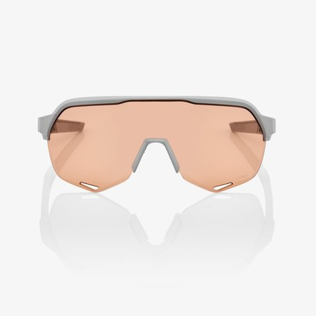 100% 100% S2® Soft Tact Stone Grey HiPER® Coral Lens + Clear Lens Included