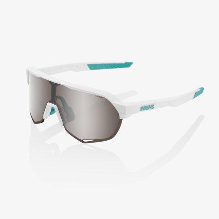 100% 100% S2 - BORA Hans Grohe Team White - HiPER Silver Mirror Lens (Incl. Clear Lens)