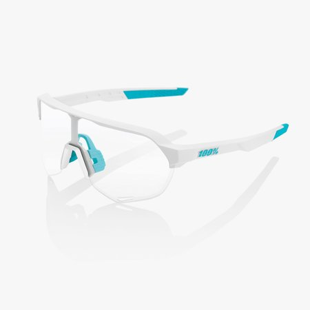 100% 100% S2® SE BORA - hansgrohe Team White HiPER® Silver Mirror Lens + Clear Lens Included