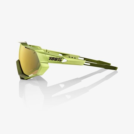 100% 100% SPEEDTRAP® Matte Metallic Viperidae Bronze Multilayer Mirror Lens + Clear Lens Included