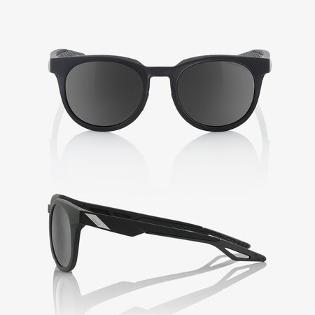 100% 100%  CAMPO Soft Tact Black - Grey PeakPolar Lens